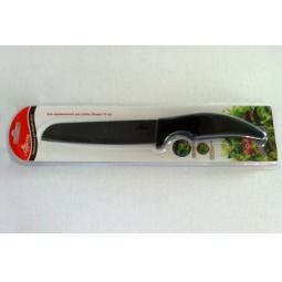 фото Нож керамический Appetite для хлеба. Цвет лезвия: черный