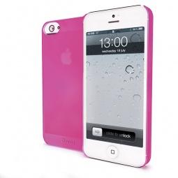 фото Чехол Muvit iMatt ультратонкий для iPhone 5. Цвет: розовый