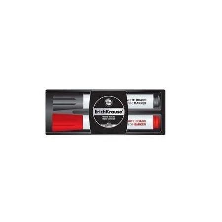 Купить Набор маркеров для досок с губкой Erich Krause W-600. В ассортименте