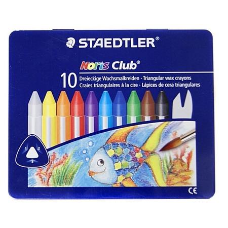 Купить Набор восковых мелков Staedtler 228M10