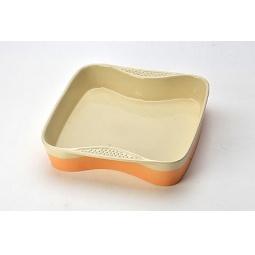 фото Противень Mayer&Boch керамический. Цвет: оранжевый