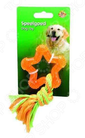 Игрушка для собак Beeztees «Звезда» трикси игрушка для собак щенок 8 см латекс цвет в ассортименте