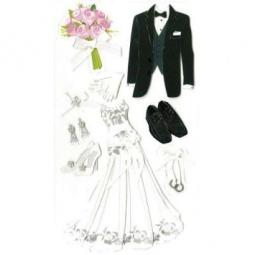 Купить Стикеры ЗD EKSuccess Tools «Жених и невеста»