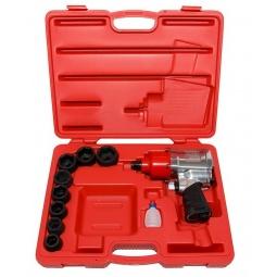 Купить Набор инструмента: пневмогайковерт с ударными головками Force F-6111