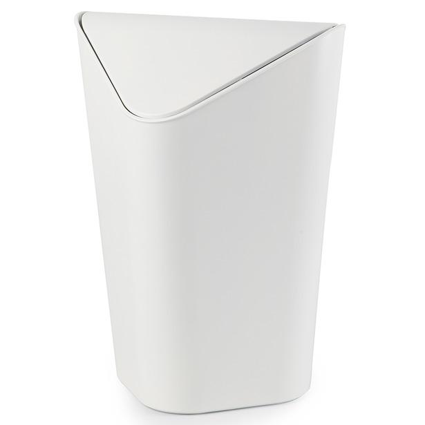 фото Корзина для мусора Umbra Corner. Цвет: белый. Объем: 10 л