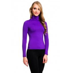 фото Водолазка Mondigo 204. Цвет: фиолетовый. Размер одежды: 44