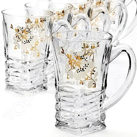 Набор стаканов Loraine LR-24083 набор кружек loraine 155 мл 6 шт 24083