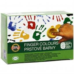 Купить Краски для рисования пальцами Koh-I-Noor 163510