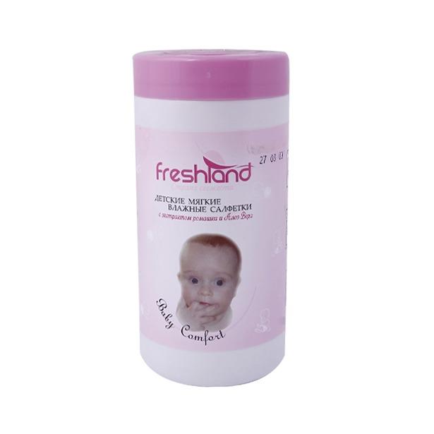 фото Набор салфеток влажных универсальных Freshland PK-850074-35 Baby