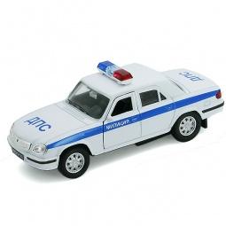 Купить Модель автомобиля 1:34-39 Welly Волга «Милиция ДПС»