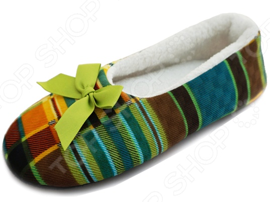 Балетки домашние Burlesco H78Женская домашняя обувь<br>Балетки домашние Burlesco H78 позволят вам быть элегантной и изящной даже в домашних условиях. Настоящая женщина всегда и везде должна быть на высоте. Именно поэтому домашние балетки это отличный выбор обуви для дома. Удобная колодка и эластичная подошва, которая адаптируется к ступне, обеспечат вам удобство и комфорт, ноги не будут уставать.<br>