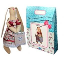 Купить Подарочный набор для изготовления текстильной игрушки Кустарь «Зайка Агата»