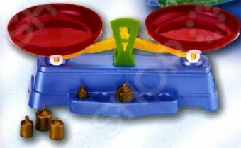 Игровой набор для девочки Marek «Весы чашечные» игровой набор cavallino весы набор продуктов