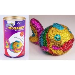 Купить Мозаика из пайеток 3D «Рыбка»