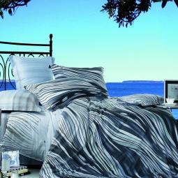 фото Комплект постельного белья с эффектом 3D Buenas Noches Volna. Евро