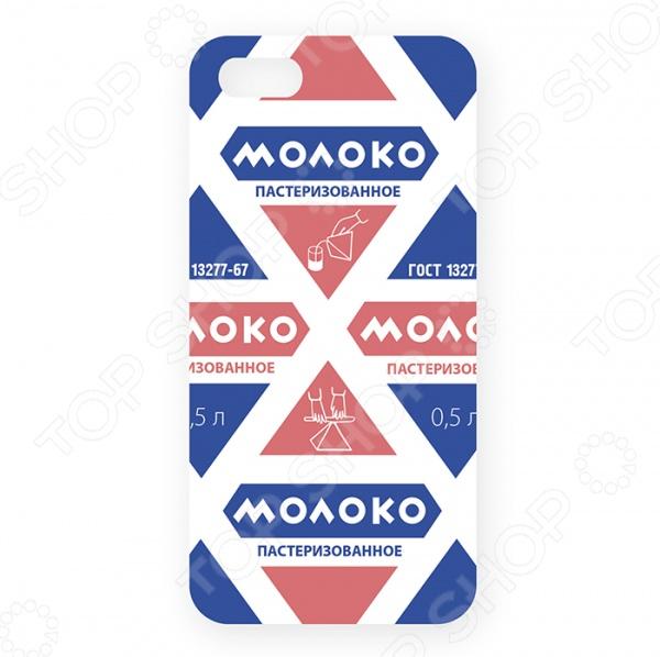 Чехол для iPhone 5 Mitya Veselkov «Молоко» вкуснотеево молоко ультрапастеризованное 2 5