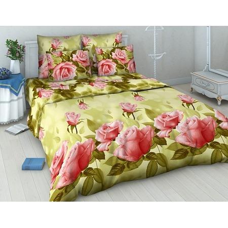 Купить Комплект постельного белья Василиса «Нежная роза». Евро