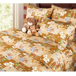 фото Ясельный комплект постельного белья Бамбино «Тузик»