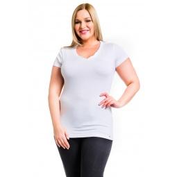 фото Футболка Mondigo XL 28544. Цвет: белый. Размер одежды: 48