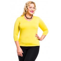 фото Кофта Mondigo XL 052. Цвет: желтый. Размер одежды: 50