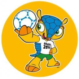 фото Мяч надувной Mondo SAO PAULO. В ассортименте