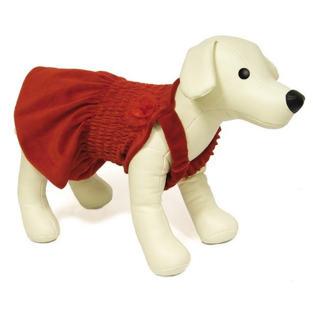 фото Платье для собак DEZZIE «Полли». Размер: 30 см