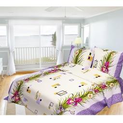 фото Комплект постельного белья Олеся «Ирис». 1,5-спальный
