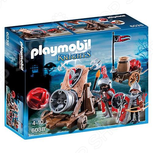 Конструктор игровой Playmobil «Рыцари: Боевая пушка Рыцарей Сокола»