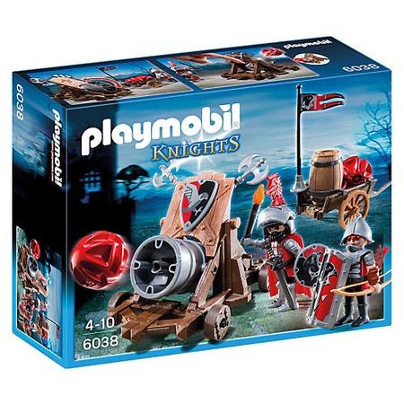Купить Конструктор игровой Playmobil «Рыцари: Боевая пушка Рыцарей Сокола»