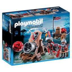 фото Конструктор игровой Playmobil «Рыцари: Боевая пушка Рыцарей Сокола»