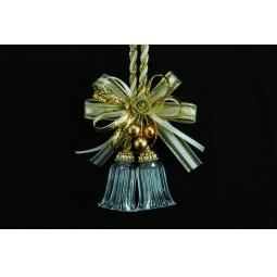 фото Подвес декоративный с колокольчиками Crystal Deco. Цвет: золотистый