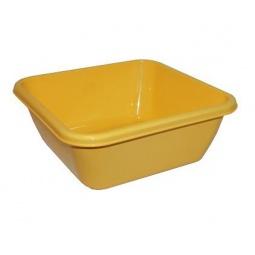 фото Таз квадратный IDEA М 2577. Цвет: желтый