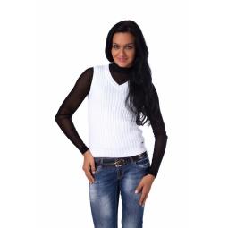 фото Жилет Mondigo 9007-01. Цвет: белый. Размер одежды: 42