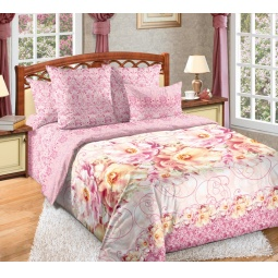 фото Комплект постельного белья Белиссимо «Незнакомка». 2-спальный. Размер простыни: 220х195 см