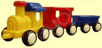 Паровозик игрушечный для малыша Форма «ДС» 06555 паровозик дс