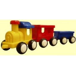 фото Паровозик игрушечный для малыша Форма «ДС» 06555