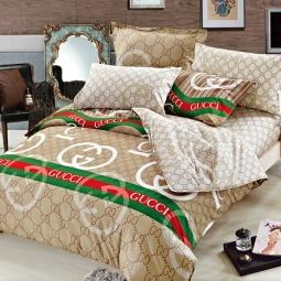 фото Комплект постельного белья Amore Mio Gucci. Provence. 1,5-спальный