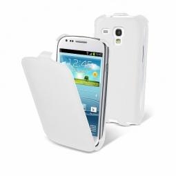 фото Чехол и пленка на экран Muvit Slim Case для Samsung S3 Mini. Цвет: белый