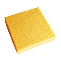 фото Коробка подарочная Феникс-Презент «Песочный». Размер: XS (9х9 см). Высота: 2 см