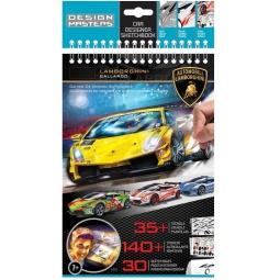 Купить Блокнот с трафаретами Design Master Lamborghini