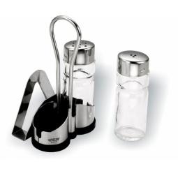Купить Набор для специй с держателем для салфеток Vitesse Mercury VS-1619