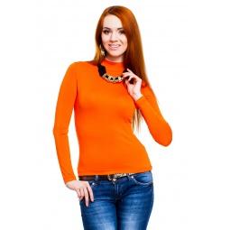 фото Водолазка Mondigo 036. Цвет: оранжевый. Размер одежды: 44