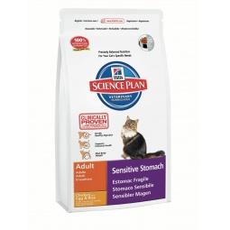 фото Корм сухой диетический для кошек Hill's Science Plan Sensitive Stomach. Вес упаковки: 1,5 кг