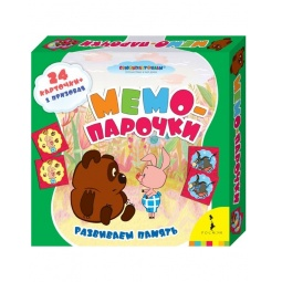 Купить Игра Союзмультфильм «Мемо-парочки «Винни-Пух»