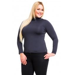 фото Водолазка Mondigo XL 204. Цвет: темно-серый. Размер одежды: 52