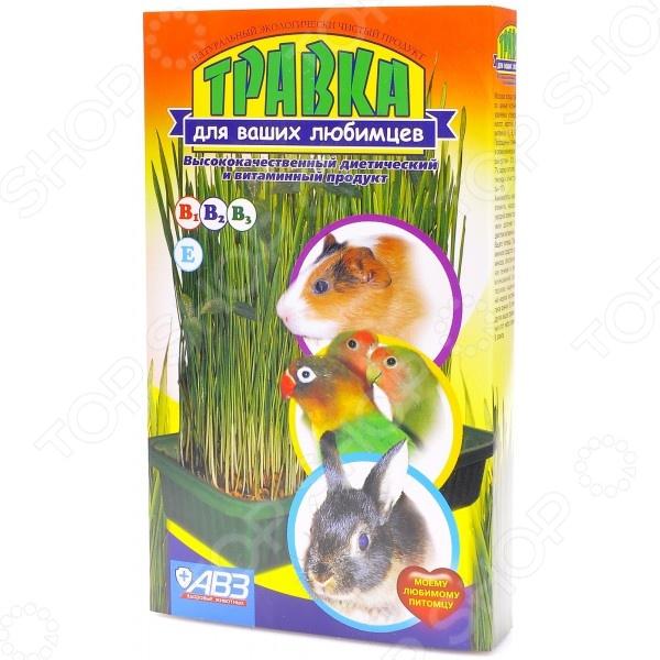 Добавка витаминная для грызунов и птиц Агроветзащита «Травка» АВ203Сено. Трава<br>Добавка витаминная для грызунов и птиц Агроветзащита Травка АВ203 используется в качестве дополнения к ежедневному рациону питания. Благодаря своему сбалансированному составу, она отлично подходит для профилактики и лечения гипо- и авитоминозов у грызунов и птиц. Добавка обогащена витаминами Е, В1, В2 и В3. В отличие от обычной уличной травы, добавка не содержит в своем составе яйца гельминтов, вирусы и болезнетворные бактерии.<br>