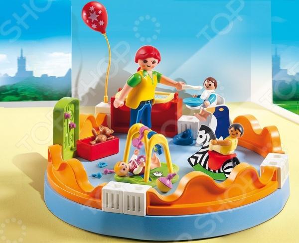 Конструктор игровой Playmobil 5570pm «Детский сад: Группа детского сада»