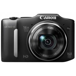 фото Фотокамера цифровая Canon PowerShot SX160 IS. Цвет: черный
