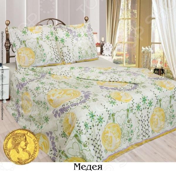 Комплект постельного белья Сова и Жаворонок «Медея». 1,5-спальный