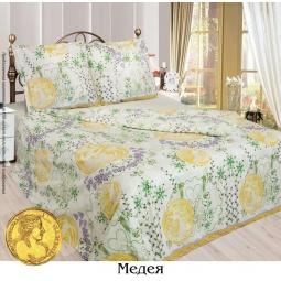 фото Комплект постельного белья Сова и Жаворонок «Медея». 1,5-спальный